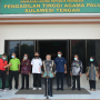 Warga Peradilan Agama se Wilayah PTA. Palu Salurkan Bantuan pada Korban Gempa Mamuju    (22/01/2021)